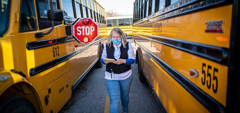 Virginia city outfits school buses with Wi-Fi for remote students