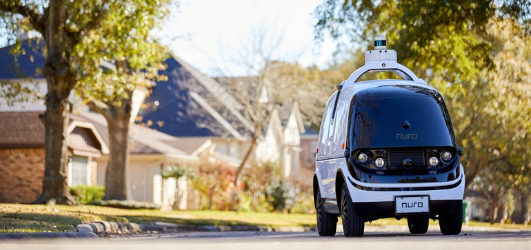 The economic, social impacts of AV delivery services: study
