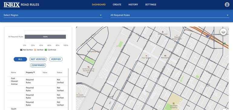 INRIX updates Road Rules platform to fit 'evolving dialogue' around data