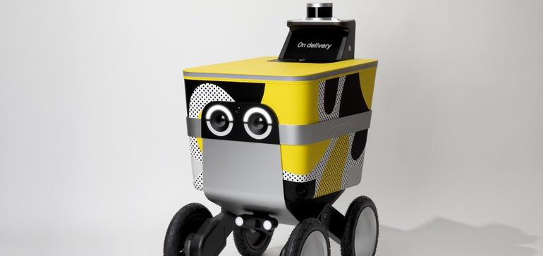 Postmates' robotics division splits off, becomes Serve Robotics