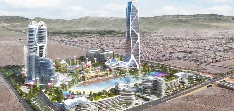 $7.5B smart 'mini-city' secures land on Las Vegas Boulevard