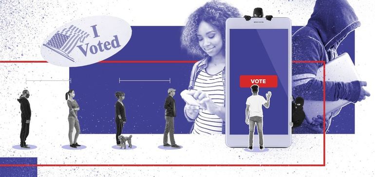 Virus vs. voting: Behind the high-risk presidential primary elections
