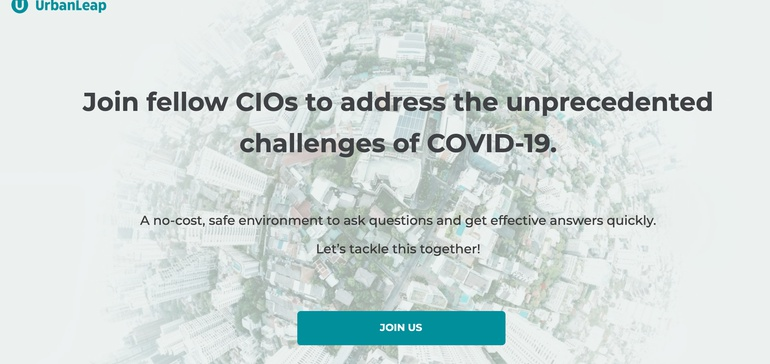 UrbanLeague provides free COVID-19 portals for CIOs, city managers