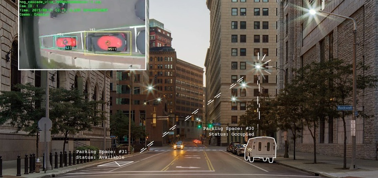 photo illustrating sensor technology in Smart Cities Drive