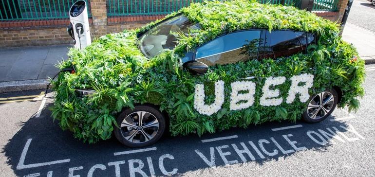 Uber pledges zero emissions platform by 2040