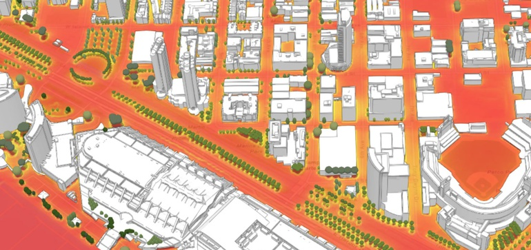 City Tech Collaborative targets 2020 for putting heat mapping tool in urban planners' hands