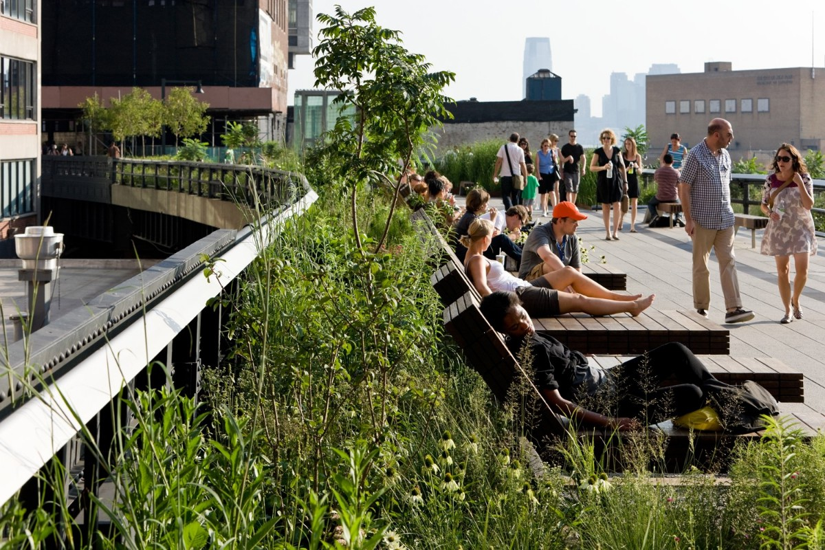 public, spaces, design, High Line, NYC