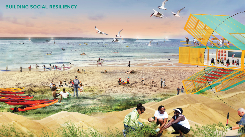 public, spaces, design, beach, hurricane sandy